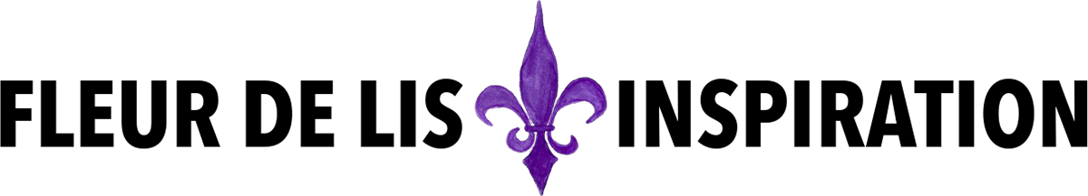 watercolor fleur de lis clip art inspiration design